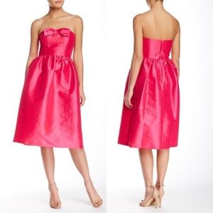 CeCe by Cynthia Steffe Strapless Bow Party Dress